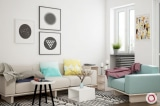 Căn hộ nhỏ trở nên rộng thoáng hơn với 5 mẹo trang trí nhà cửa đơn giản