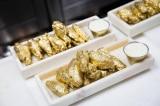 cánh gà mạ vàng