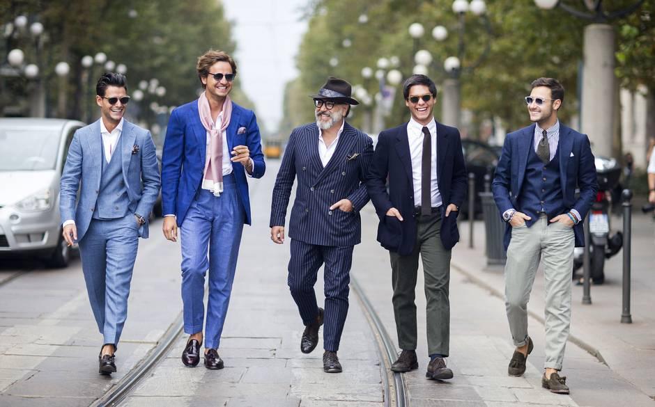 Bí quyết mặc đẹp theo độ tuổi của nam giới