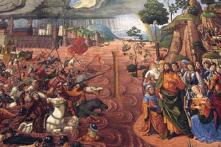 Truyền thuyết Moses rẽ nước Biển Đỏ