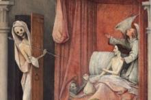 """Ngụ ngôn đạo đức trong bức """"Thần chết và kẻ bủn xỉn"""""""
