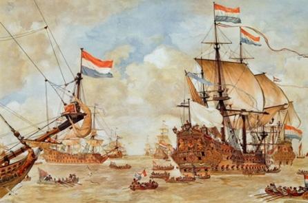 Cuộc hải chiến giữa người Việt và người Tây phương vào thế kỷ 17