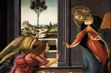 Hình ảnh Đức mẹ Mary tiếp nhận thiên ý qua hội họa