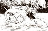 Múa giáo đánh hổ dễ, đối mặt vua Bà khó