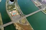 Video từ trên không cho thấy thủ đô Bình Nhưỡng vắng tanh