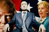 Trump van Hillary Clinton