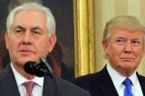 Trump va Tillerson