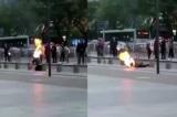 Một vụ tự thiêu diễn ra tại Bắc Kinh ngay trước Đại hội 19