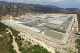 Bãi xỉ Nhiệt điện Vĩnh Tân 2 làm đất và nước nhiễm mặn