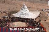 Tháp băng ở Ladakh, Ấn Độ: Giải pháp trữ nước ngay giữa trời sa mạc (video)