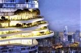 Tiết lộ thiết kế của Empire City Tower cao 333m với 'khu rừng trên không' ở Sài Gòn