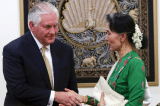 Tillerson tai Myanmar