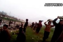 Video quay lén cảnh cưỡng bức lao động tại Triều Tiên