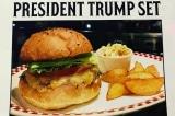 """Sau """"bún chả Obama"""" ở Việt Nam, người Nhật cũng có """"burger Donald Trump"""""""