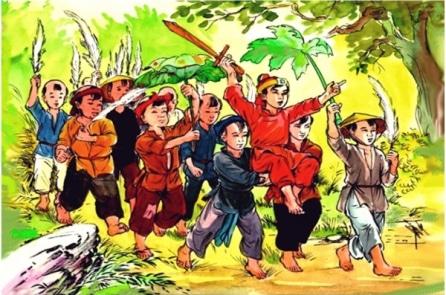 Hào hùng Vạn Thắng Vương – P1: Thuở nhỏ được trao gươm quý