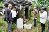 Huế: Điều tra vụ lăng mẹ vua Dục Đức bị đào xới nghiêm trọng