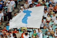 Nam, Bắc Hàn mang cùng một lá cờ tại Olympics