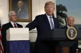 Vì an ninh quốc gia, ông Trump buộc phải ký luật chi ngân sách 1,3 ngàn tỷ
