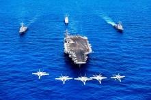 Tàu sân bay Mỹ rời Việt Nam, Trung Quốc không hài lòng