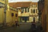 Những góc phố Hà Nội qua tranh của họa sĩ Phạm Bình Chương