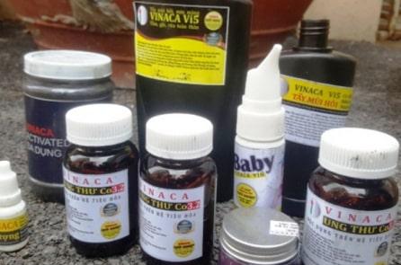 Hải Phòng: Khởi tố vụ làm thuốc Vinaca trị ung thư từ than tre
