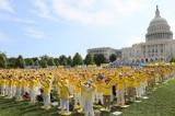 Mít tinh tại Mỹ lên án cuộc đàn áp Pháp Luân Công ở Trung Quốc
