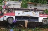 Cao Bằng: Xe khách rơi xuống vực, 30 người thương vong