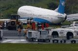 Máy bay hàng không Trung Quốc hạ cánh trượt đường băng tại Philippines