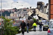 Sập cầu trên xa lộ tại Ý, ít nhất 26 người thiệt mạng
