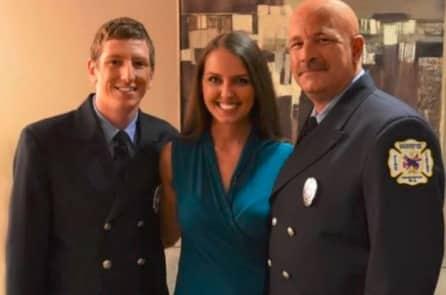 Cô gái trẻ âm thầm trả tiền cho 2 lính cứu hỏa và cái kết xúc động