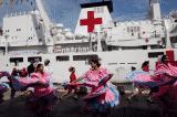 Tàu bệnh viện Trung Quốc khám bệnh miễn phí tại Venezuela một tuần