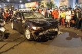 Nữ tài xế BMW tông hàng loạt xe máy, 1 người chết