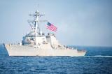 Mỹ cân nhắc sẽ tiếp tục điều tàu chiến tới Eo biển Đài Loan