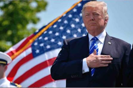 Tỷ lệ ủng hộ Tổng thống Trump đạt cao kỷ lục trong khảo sát Gallup