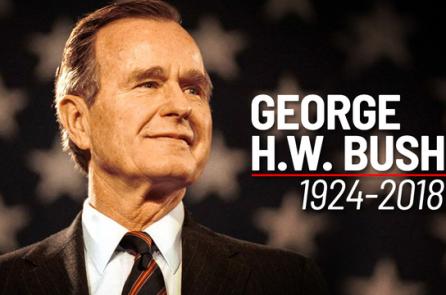 Nước Mỹ trang nghiêm vĩnh biệt cố Tổng thống Bush 'cha'