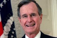 Cựu Tổng thống Mỹ George H. W. Bush vẫn hài hước cho đến cuối đời