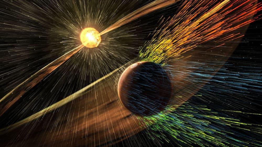 Minh họa của NASA cho thấy ánh sáng đi chậm 'như rùa' trong không gian