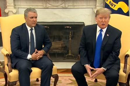 Tổng thống Mỹ, Colombia bàn việc lật đổ Maduro