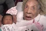 Cụ bà 105 tuổi bế chắt mới sinh, gia đình 5 thế hệ họp mặt