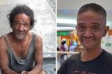 Người đàn ông vô gia cư đoàn tụ với gia đình sau khi thay đổi diện mạo