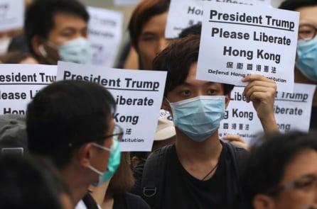 """Người Hồng Kông kêu gọi lãnh đạo G-20 giúp chống lại """"chế độ độc tài"""""""