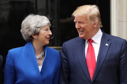 Ông Trump chỉ trích Đại sứ, Thủ tướng Anh sau vụ rò rỉ điện thư