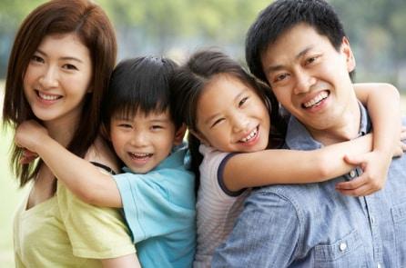 6 mối quan hệ vợ chồng hình thành 6 loại tính cách của trẻ