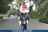 """Người đàn ông Indonesia """"đi lùi"""" 800 km để kêu gọi bảo vệ rừng"""