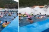 """Trung Quốc: Hồ bơi tạo """"sóng thần"""" làm 44 người bị thương"""