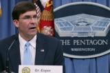 Bộ Trưởng Quốc phòng Mỹ kêu gọi Trung Quốc kiềm chế về Hồng Kông