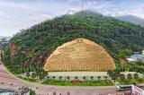 Bình Định: Chi 86 tỷ tạc phù điêu Lạc Long Quân –  Âu Cơ vào vách núi