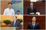 Quốc hội chốt 4 Bộ trưởng 'đăng đàn' trả lời chất vấn