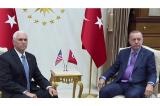 TNK đồng ý với Mỹ sẽ dừng tấn công Syria để người Kurd rút lui