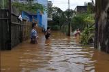 Bảo Lộc ngập sâu 0,5 – 1,5m sau trận mưa lớn